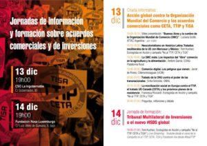 Jornada de formación: Tribunal Multilateral de inversiones o el nuevo #ISDS global @ Fundación Rosa Luxemburgo | Madrid | Comunidad de Madrid | España
